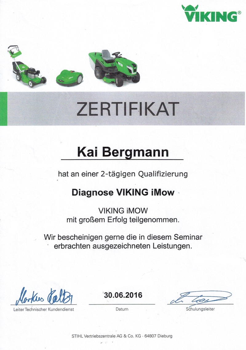 Boerger-Motorgeraete-Gartentechnik-Forsttechnik-Zertifikat-Viking