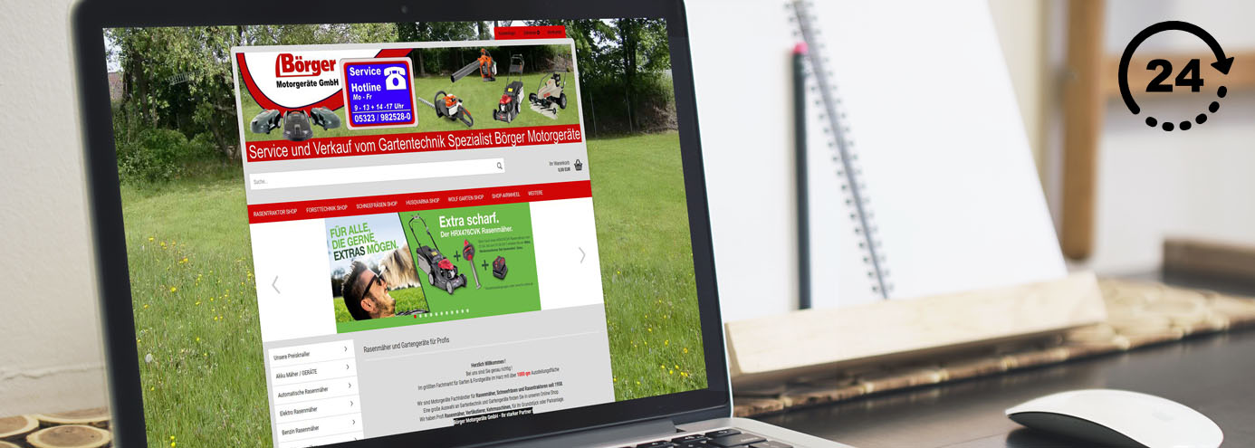 Onlineshops Für Garten Und Forsttechnik Börger Motorgeräte
